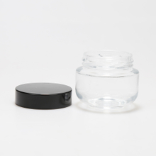 LanJing Cosmetic 5g 15g 20g 30g 50g 100g Clear Glass Cream Jars with Lids for Body Cream