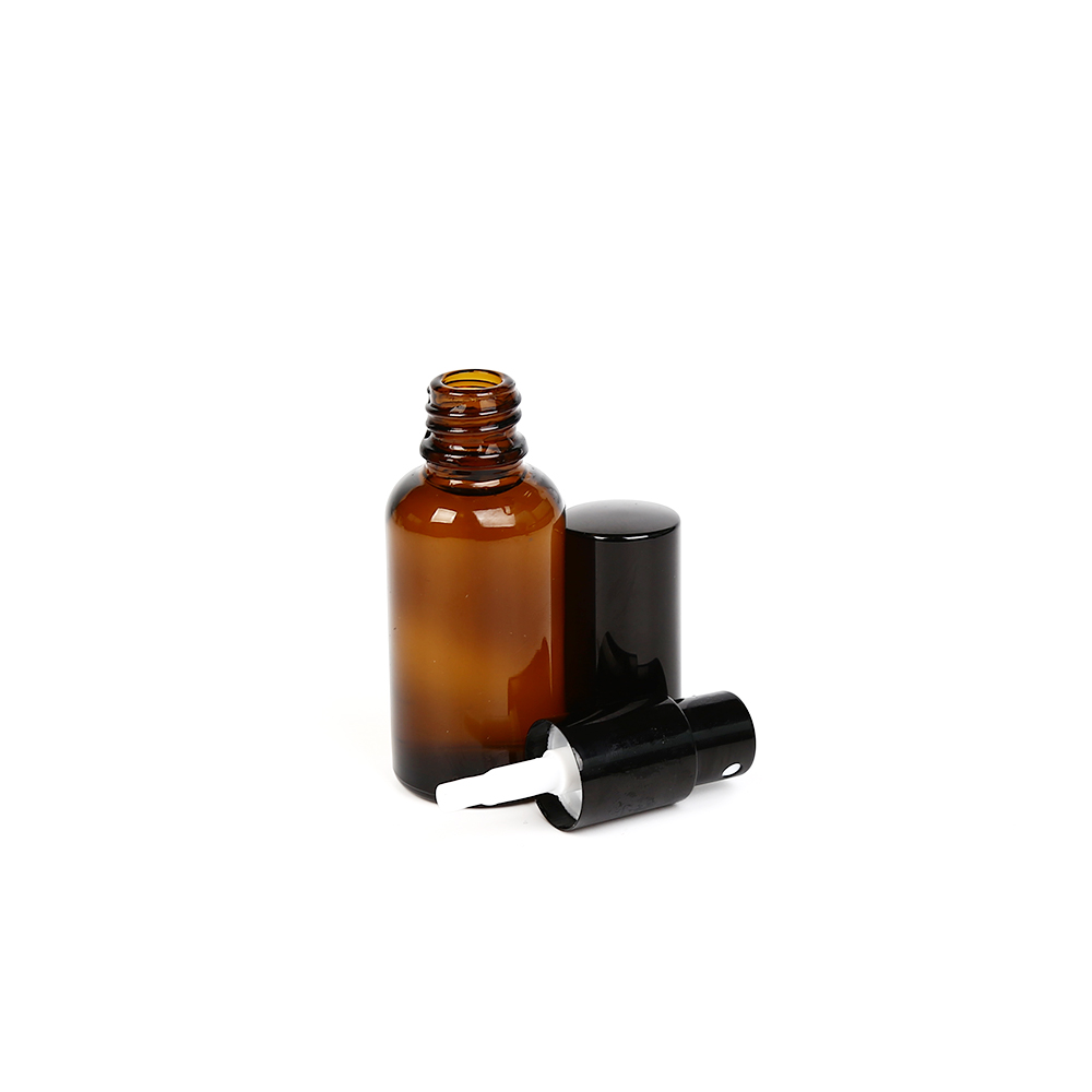 LanJing 30ml Small Glass Empty Essential Oil Spray Bottles