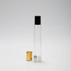LanJing 10ml Clear Blue Amber Essential Oil Custom Roll on Glass Bottle with Ball