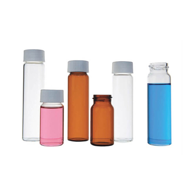 20ml 40ml 60ml Clear And Amber Borosilicate Glass EPA Vial